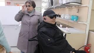 Тест-драйв: На инвалидной коляске по Бердску 1