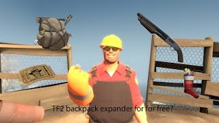 TF2: How to get more backpack room for free to play?
