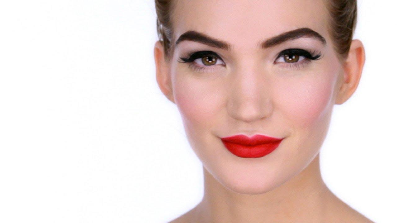 Pin Up Makeup Tutorial - YouTube