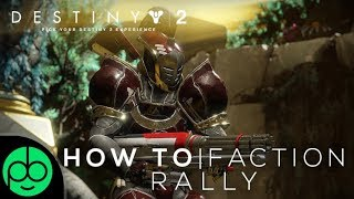 Destiny 2: Faction Renown! How Does It Work?