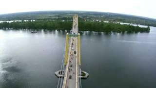 jembatan barito Kalimantan Selatan
