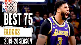 Best 75 BLOCKS | 2019-20 NBA Season