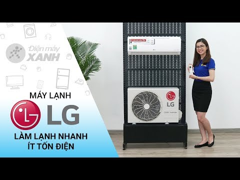 Máy lạnh LG Inverter 1 HP V10ENV - Làm lạnh nhanh, ít tốn điện | Điện máy XANH