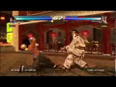 Tekken Tag Tournament 2:Forest Law/Lei Gameplay