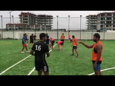 BRFC Bangalore Rugby training 28.08.2017