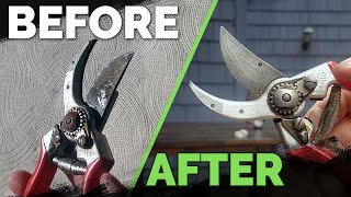 How to Remove Rust From Your Gardening Tools Easily!