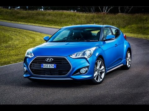 NRMA new car review 2015 Hyundai Veloster Coupe Series 2