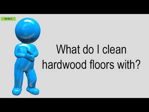 What Do I Clean Hardwood Floors With?