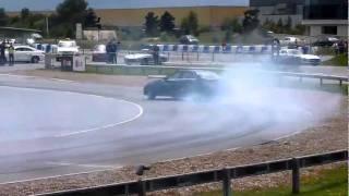 Поставлен мировой рекорд по дрифту на Mercedes Benz C63 AMG.