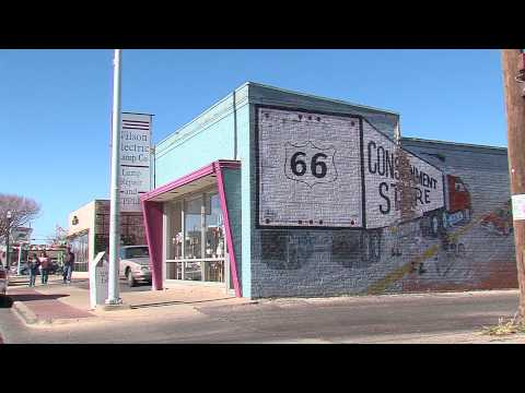 Historic Route 66 Amarillo Texas