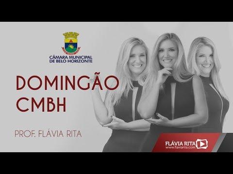 [Reprise]DOMINGÃO CMBH - Prof. Flávia Rita