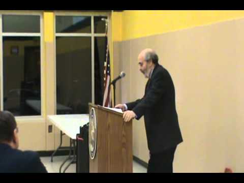 Dr Alan Charles Kors addresses the Lehigh Valley Tea Party