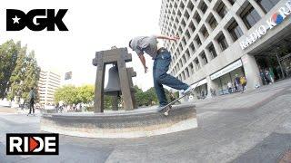 Skaters Take Over J Kwon - DGK Ledge Best Trick With Boo Johnson & Derek Wilson
