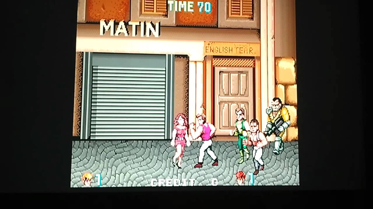 MAME PS3 - Test preview version Of MAME PS3 - Double Dragon 1