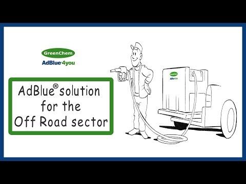 AdBlue Solution for Excavators Tractors Reach Stackers Forklift Trucks etc