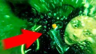 Паника Дайвера на глубине 15 метров! Интересные новости