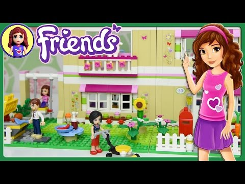 Lego Friends Olivia's House Set Building Review Play - Kids Toys