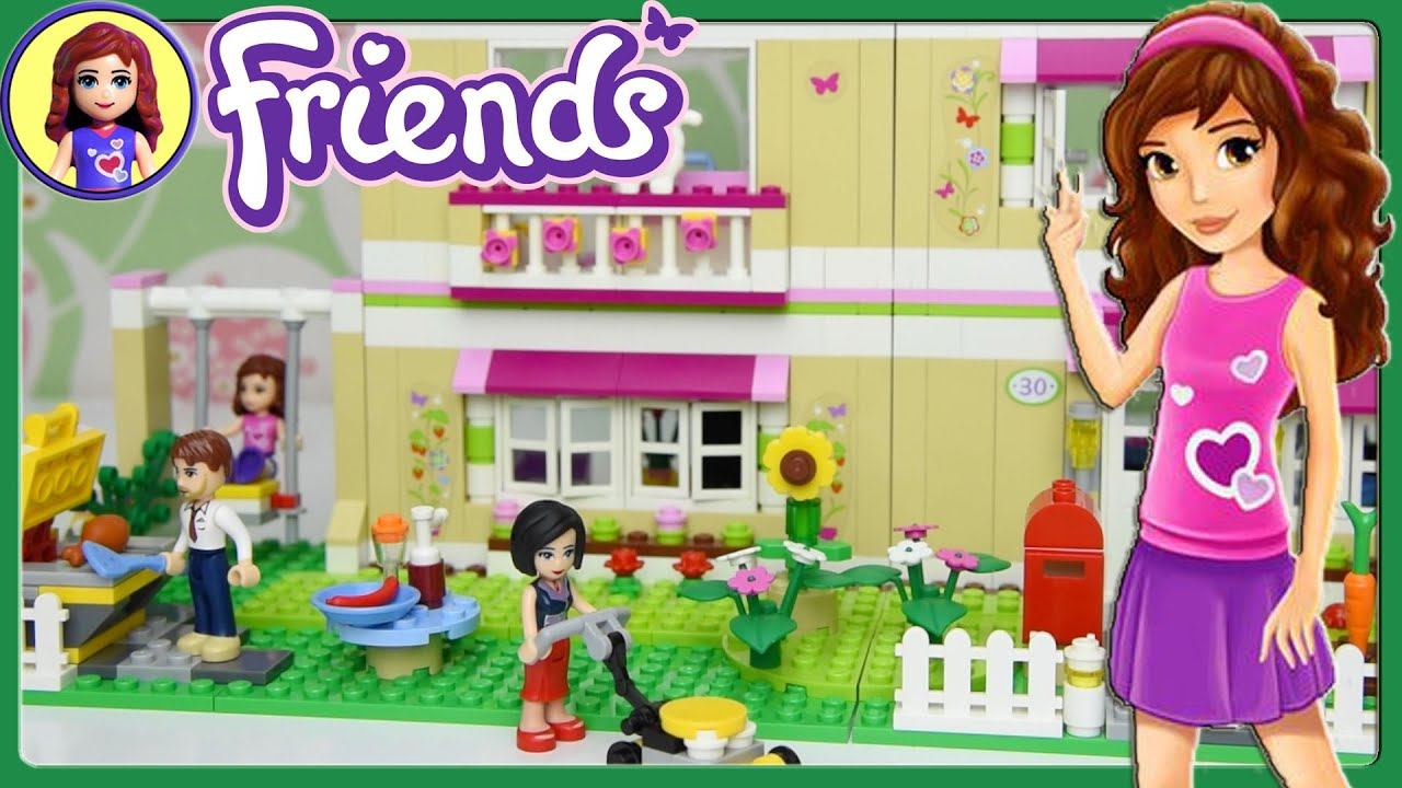 Lego Friends Olivias House Set Building Review Play