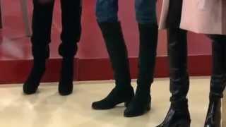 видео Зимние ботфорты: как выбрать и с чем их носить