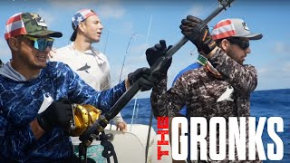 Download BlacktipH and the Gronk bros go fishing for MONSTERS - and try not to throw up | The Gronks Vlog #2
