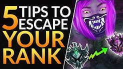 Top 5 Tips you MUST KNOW to ESCAPE PLATINUM: Best Tricks to Rank Up | League of Legends Pro Guide
