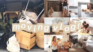 (satisfying) moving vlog - packing, organising & decorating my new room | lolita olympia