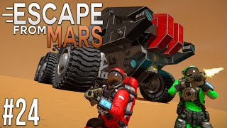 Space Engineers: ESCAPE from MARS! - Ep #24 - Preparing for BATTLE!