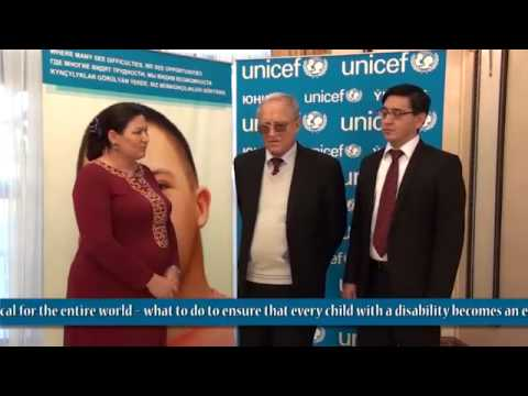 CRPD policy consultation in Turkmenistan, 30 November 2012. Interview with Society for blind