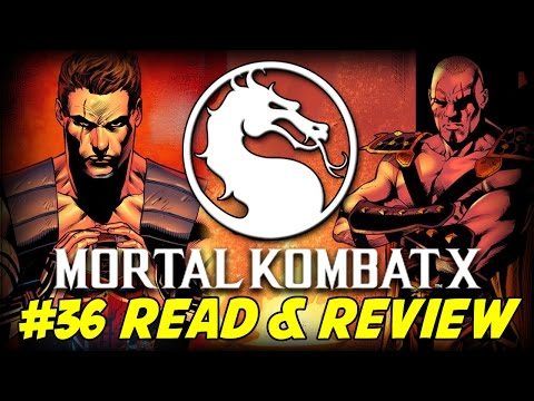 Mortal Kombat X #36 Fight To The Finish (Read & Review)