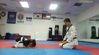 5 Year Old Cute Taekwondo Girl, World Mission TKD Association-L.A.