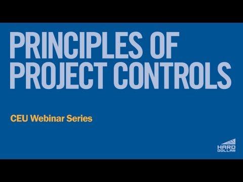 CEU Webinar: Principles of Project Controls