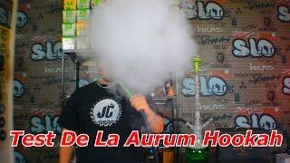 TEST DE LA AURUM HOOKAH