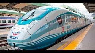 250 KM HIZ İLE ESKİŞEHİR'E GİTMEK - Ankara - Eskişehir Yüksek Hızlı Tren (YHT) - Vlog