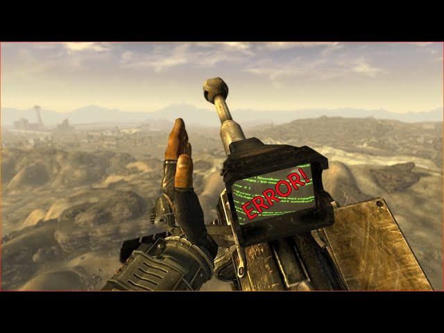 Fallout New Vegas All Weapons Jamming Animations Showcase (All DLCs Included) 4K 60FPS