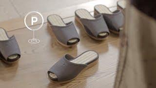 «Самопаркующиеся» тапочки и столы сделал Nissan для японского отеля