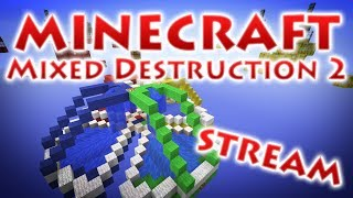 RedCrafting - Стрим - С 8 Марта! - Mixed Destruction 2