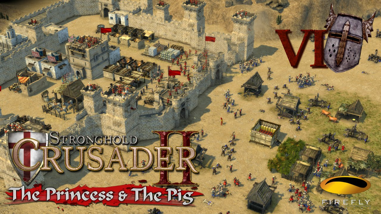 Stronghold Crusader II: The Princess & The Pig 2015 pc game Img-4