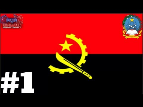 Geopolitical Simulator 4 2018- Angola - pt 1: THE NEW 2018 EDITION