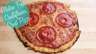 Cauliflower Crust Pizza Recipe  Gluten Free and Low Carb
