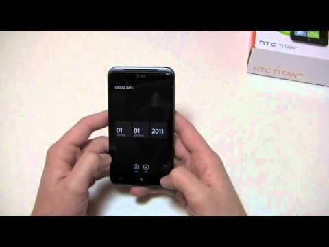 HTC Titan Unboxing