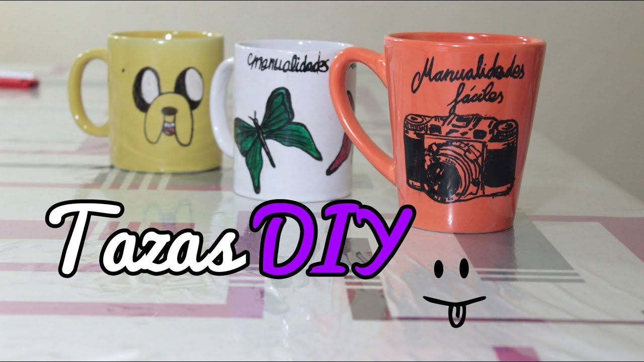 C mo hacer tazas personalizadas decorar tazas Manualidades