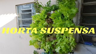 Como Fazer Uma Horta Suspensa em Canos PVC