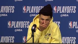 Jamal Murray Postgame Interview - Game 6 | Nuggets vs Blazers | 2019 NBA Playoffs