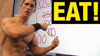6 Pack Diet Plan Disaster (CALORIE CUTTING!)
