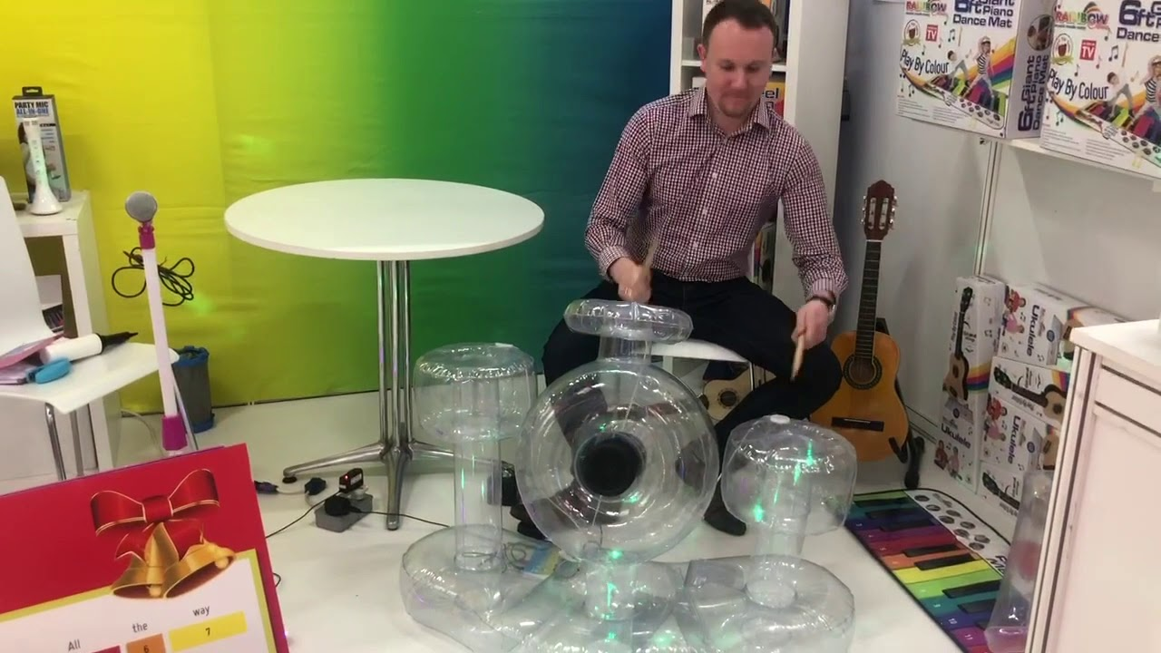 Diverse Insights Nuremberg Toy Fair 2019 Inflatable Drum Set