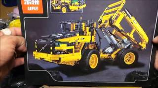 Lepin 20006 Volvo L350F RC Wheel Loader unboxing (Lego 42030 copy)