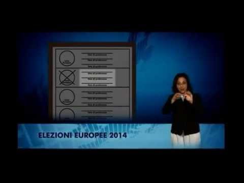 ELEZIONI EUROPEE 2014 - Come si vota