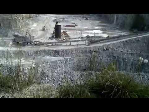 "Open Pit Mine ""Stone Quarry"" Flat Rock, Indiana"