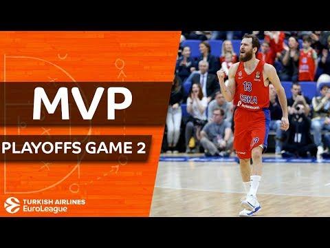 Turkish Airlines EuroLeague Playoffs Game 2 MVP: Sergio Rodriguez, CSKA Moscow