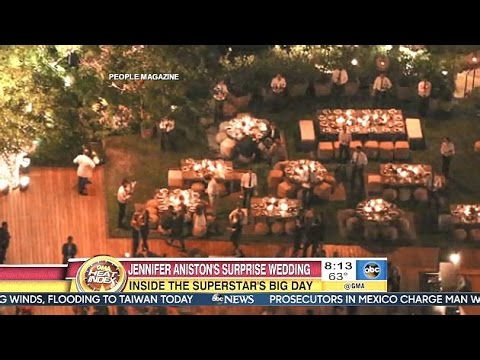 Jennifer Aniston & Justin Theroux Surprise Wedding - GMA